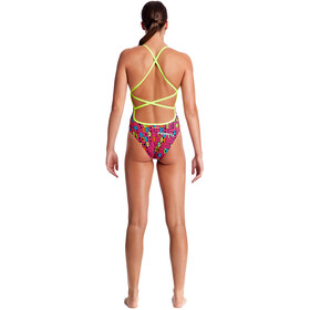 Funkita Strapped In One Piece Uimapuku Naiset, code breaker